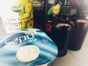 חומרים זמינים במקרר לטיםפול פנים ביתי